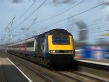 Snelle Trein Stock Foto's