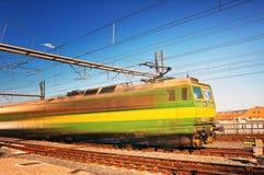 Snelle trein Royalty-vrije Stock Fotografie