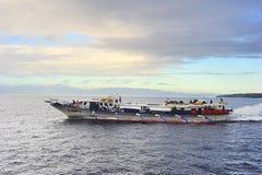Snelle veerboot Stock Afbeelding