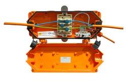 Snelle verbindings elektrische doos Royalty-vrije Stock Afbeelding