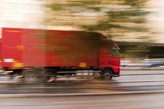 Snelle Vervoer Royalty-vrije Stock Fotografie