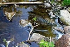 Snelle waterstroom Stock Foto's