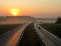 snelweg Stock Fotografie
