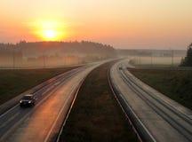 snelweg Royalty-vrije Stock Afbeeldingen