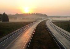 snelweg Stock Foto's