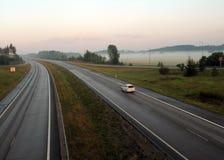 snelweg Royalty-vrije Stock Afbeelding