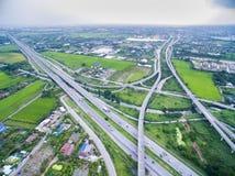snelweg Stock Foto