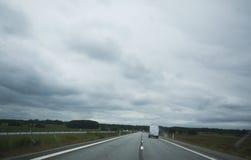 snelweg Royalty-vrije Stock Foto's