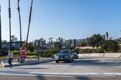 snelweg 101 in Los Angeles Royalty-vrije Stock Afbeeldingen