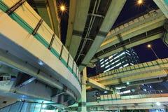 Snelweg in Tokyo Stock Foto