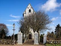 Sneum-Kirche nahe Esbjerg, Dänemark Stockbild