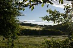Snezka, самая высокая вершина в чехии Стоковая Фотография