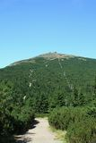 Snezka Giant mountains Stock Photography