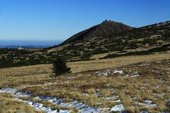 Snezka, Giant mountains, (czech: Krkonose, Pec pod Snezkou), the northern part of the Czech Republic Royalty Free Stock Image