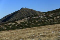 Snezka, Giant mountains, (czech: Krkonose, Pec pod Snezkou), the northern part of the Czech Republic Stock Image