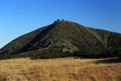 Snezka, Giant mountains, (czech: Krkonose, Pec pod Snezkou), the northern part of the Czech Republic Royalty Free Stock Photo