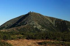 Snezka, Giant mountains, (czech: Krkonose, Pec pod Snezkou), the northern part of the Czech Republic Royalty Free Stock Images