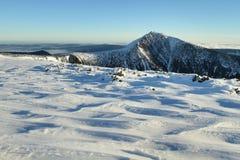 Snezka peak Royalty Free Stock Photos