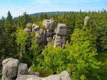 Snezne vezicky granite rock formation Stock Photos
