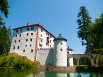 Sneznik Castle Royalty Free Stock Images