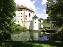Sneznik castle, Slovenia Stock Photo