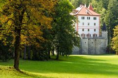Sneznik Castle, Slovenia Royalty Free Stock Images