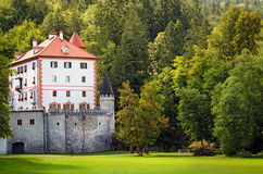 Sneznik Castle, Slovenia Stock Photography