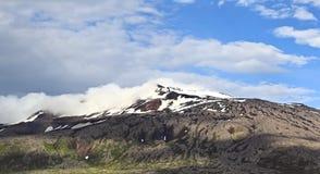 Snæfellsjökull volcano and glacier in western Iceland Stock Image