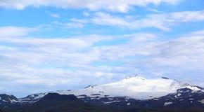 Snæfellsjökull volcano and glacier in western Iceland Stock Photos