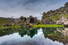 Snæfellsjokull volcano, Iceland Stock Images
