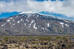Snæfellsjokull volcano, Iceland Royalty Free Stock Photos