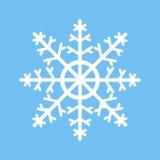 Snöflingasymbolsvektor Arkivbilder