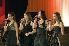 sångare Fotografering för Bildbyråer