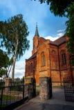 Sniadowo Village, Poland, Church Stock Image