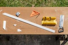 Snickare Tools royaltyfri fotografi