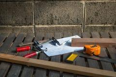 Snickare Tools Royaltyfria Bilder