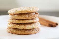 Snickerdoodle Cookie Stock Photography