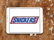 Snickers chocolate logo Royalty Free Stock Image