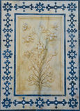 snida blom- marmor Fotografering för Bildbyråer
