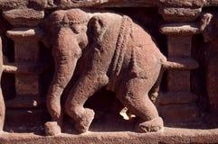 snida elefanten Arkivfoto