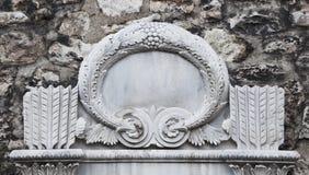 snida gammal turk för marmor Arkivbilder
