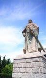 Snida i den Penglai paviljongen på Yantai royaltyfria foton