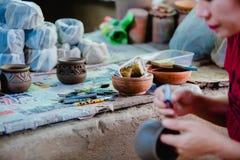 Snida lera för gör lergods royaltyfria foton