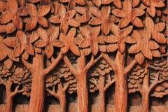 snida trä arkivbilder