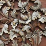 snida wood modeller Royaltyfria Bilder