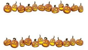 Sniden allhelgonaafton som pumpking den hemmastadda illustrationen för stålarnolla-lykta 3d stock illustrationer