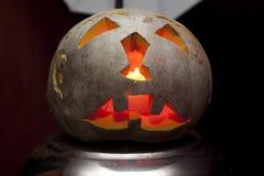 sniden halloween pumpa Royaltyfria Bilder