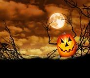 sniden halloween pumpa royaltyfri illustrationer