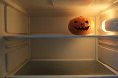sniden halloween pumpa arkivfoton
