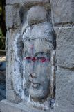 Sniden sten för Kina ` s Buddha Royaltyfri Bild